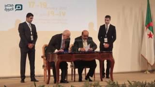 بالفيديو| مكتبة الإسكندرية توقع 3 اتفاقيات لمكافحة التطرف