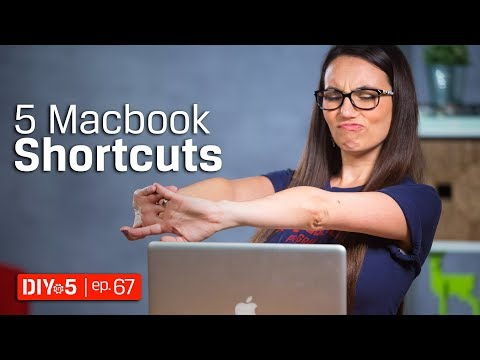 Mac Tips ⌘ Macbook Productivity Tips – DIY in 5 Ep 67