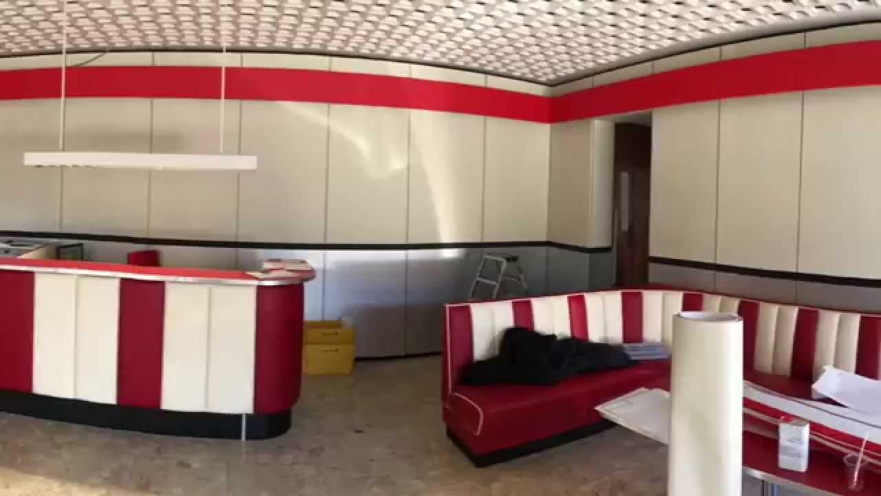 Wandvertäfelung und möbel renovierung mit möbelfolien von ...