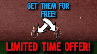 HOW TO GET THE FREE BARCELONA BUNDLE! (Roblox)