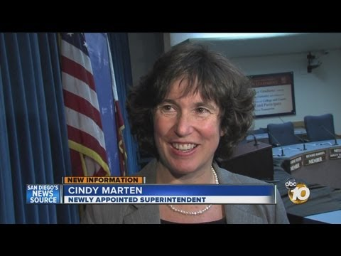 San Diego Unified names Central Elementary School Principal Cindy Marten to be new superintendent