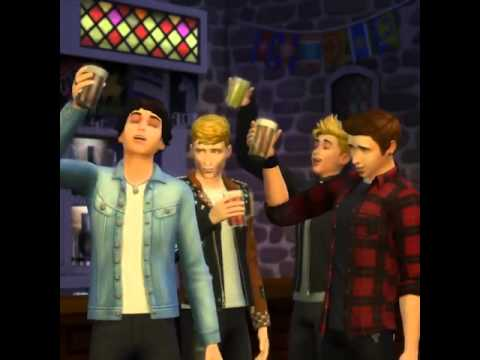 The Vamps Band chante en Simlish