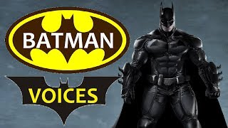 13 Best VOICE of BATMAN || Batman Movies, Batman Games, Batman TV Series (VOICE Of BATMAN)