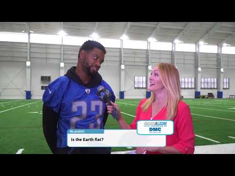 Flat Earth Newest Athlete Darius Slay - NFL Detroit Lions - September 2017 ✅