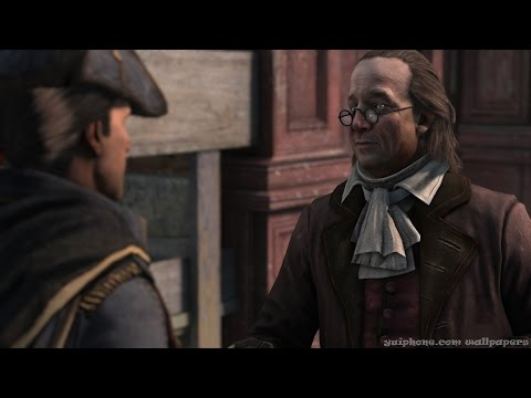 Assassin's Creed Historical Character #2 - Benjamin Franklin