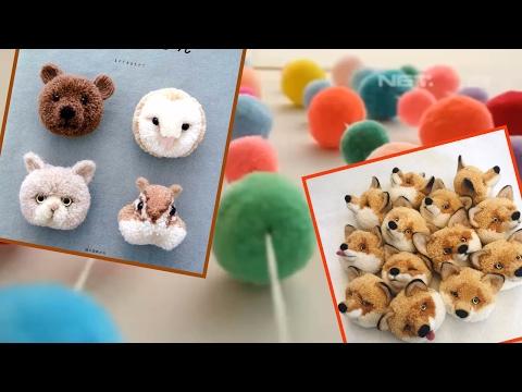 How to Make Pompoms Step by Step   DIY Pom Pom Projects Pom Pom Tutorial