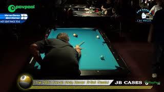 #16 - Warren KIAMCO vs Mitch ELLERMAN - 2018 Andy Mercer 9-Ball Classic!