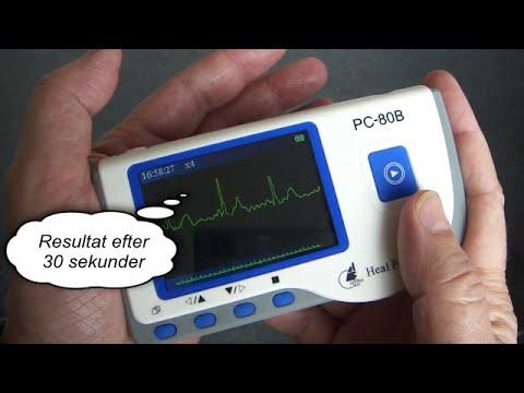 Easy ECG Monitor - Elektrodefri EKG tjek for hjertets sundhed