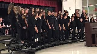 Fall 2018 South Meadows Middle School Choir Performance #2