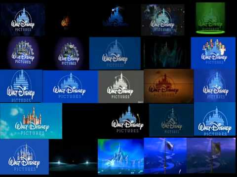 All 25 Walt Disney Pictures Logos At The Same Time
