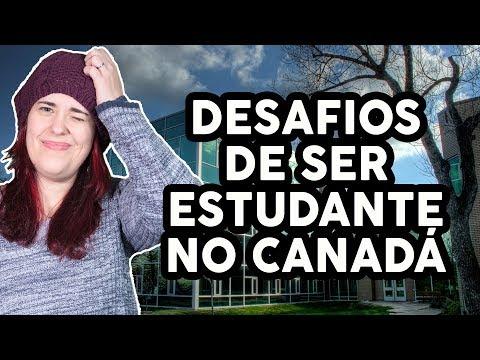 OS DESAFIOS DE SER ESTUDANTE NO CANADÁ