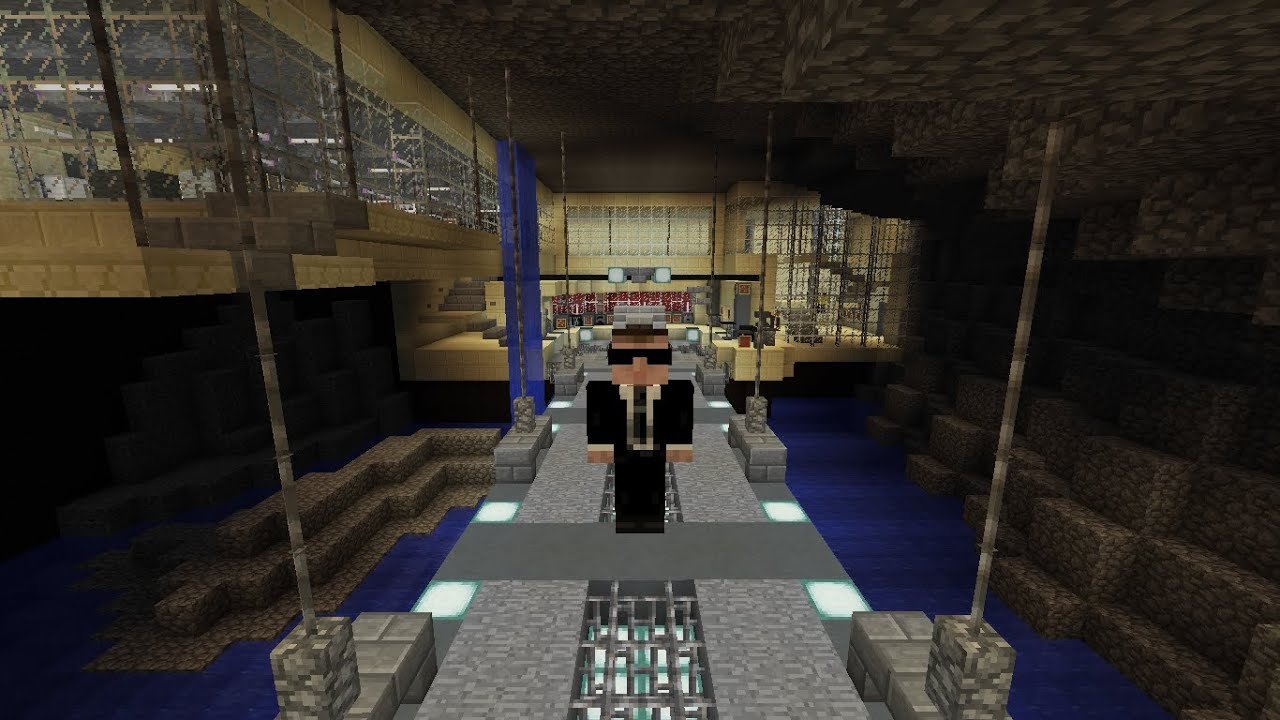 Ben Affleck\'s Batcave (Justice League): Minecraft