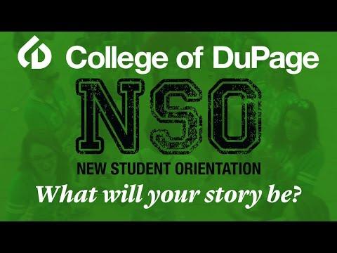 College of DuPage: 2016 New Student Orientation Testimonials