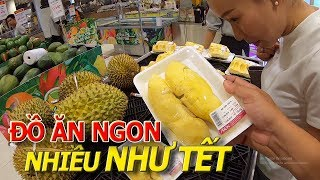 Ngập tràn ĐỒ ĂN THỨC UỐNG tưởng ngày TẾT ở siêu thị NHẬT BẢN AEON MALL TÂN PHÚ I cuộc sống sài gòn