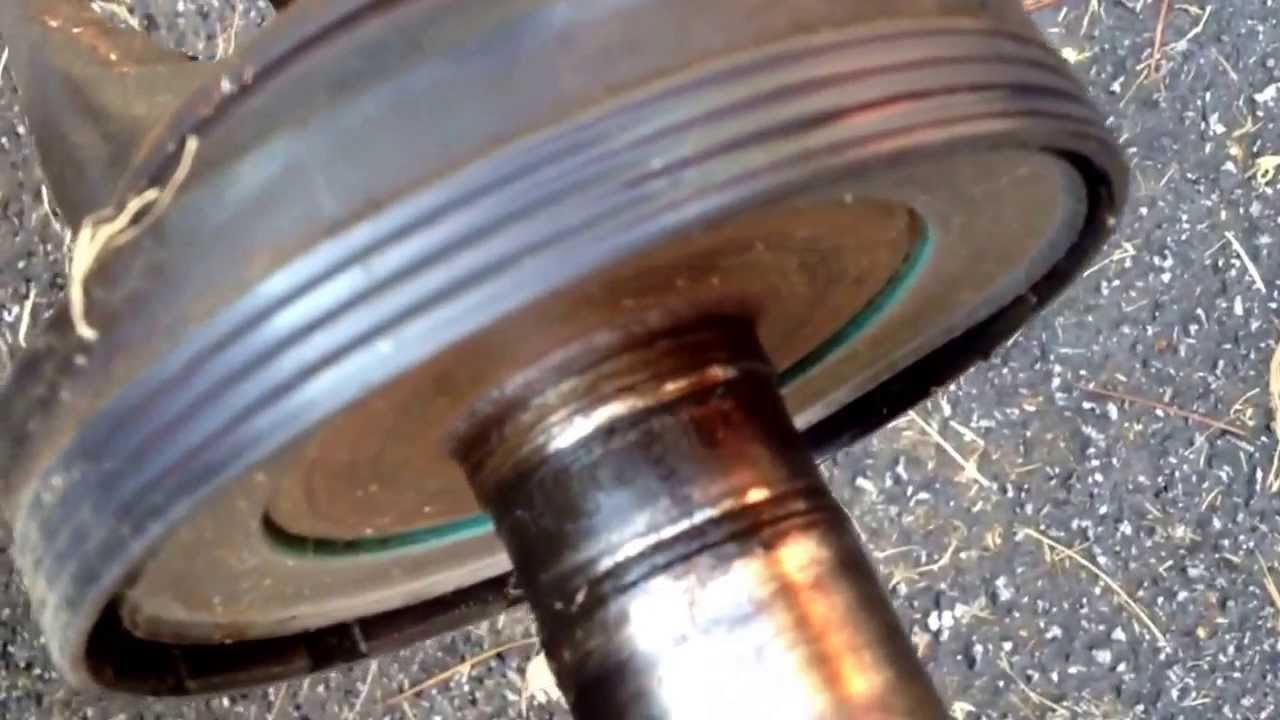 F250 Needle Bearing Spindle Shaft And Knuckle Seal Issues Youtube