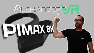 PIMAX 8K ANÁLISIS Y PIMAX 4K. ESTA ES SU HISTORIA   Realidad Virtual en Español