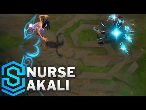 Nurse Akali Skin Spotlight - League of Legends