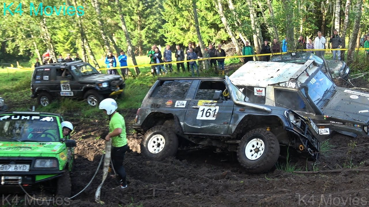 4x4 Off-Road SUV mud race | klaperjaht 2017