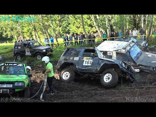 4x4 Off-Road SUV mud race | klaperjaht 2017