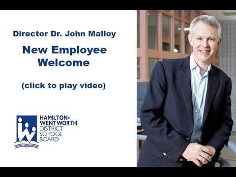 Director Message - New Employee Welcome - YouTube - welcoming messages for new employees