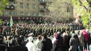 Центральный парад 9 мая в Красноярске