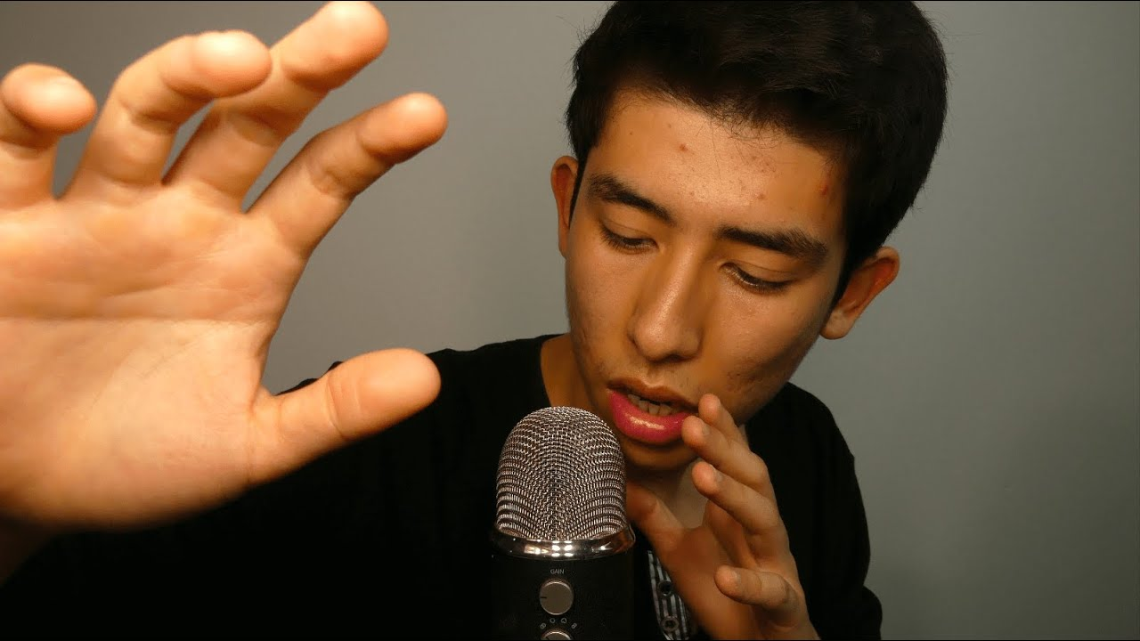ASMR mouth sounds on a whole new tingly level