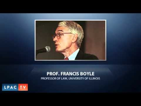 Interview with Prof. Francis Boyle - Impeachment of Obama -  November 14, 2011
