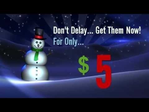 Holiday Website Graphics... ONLY $5