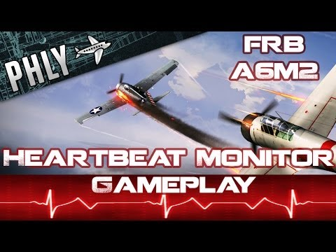 War Thunder Gameplay-Heartbeat Monitor- Full Real Battle