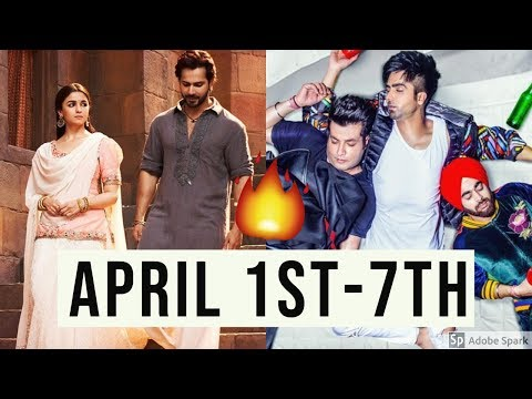 Top 10 Hindi/Indian Songs Of The Week April 1st-7th 2019 | New Bollywood Songs Video 2019!