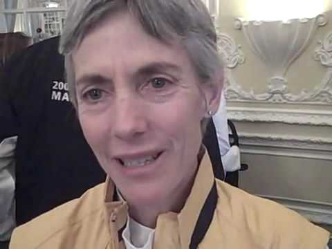 2009 Boston Marathon - Joan Benoit