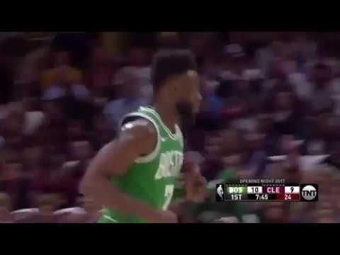 Jaylen Brown Unbelievable Hard Dunk | Cleveland Cavaliers - Boston Celtics Nba First Match