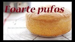 Blat de tort PUFOS , PANDISHPAN, USOR, IEFTIN, Reteta pentru incepatori
