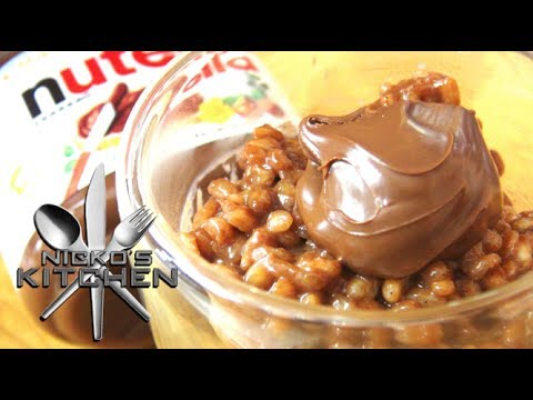 Nutella Rice Pudding - Video Recipe