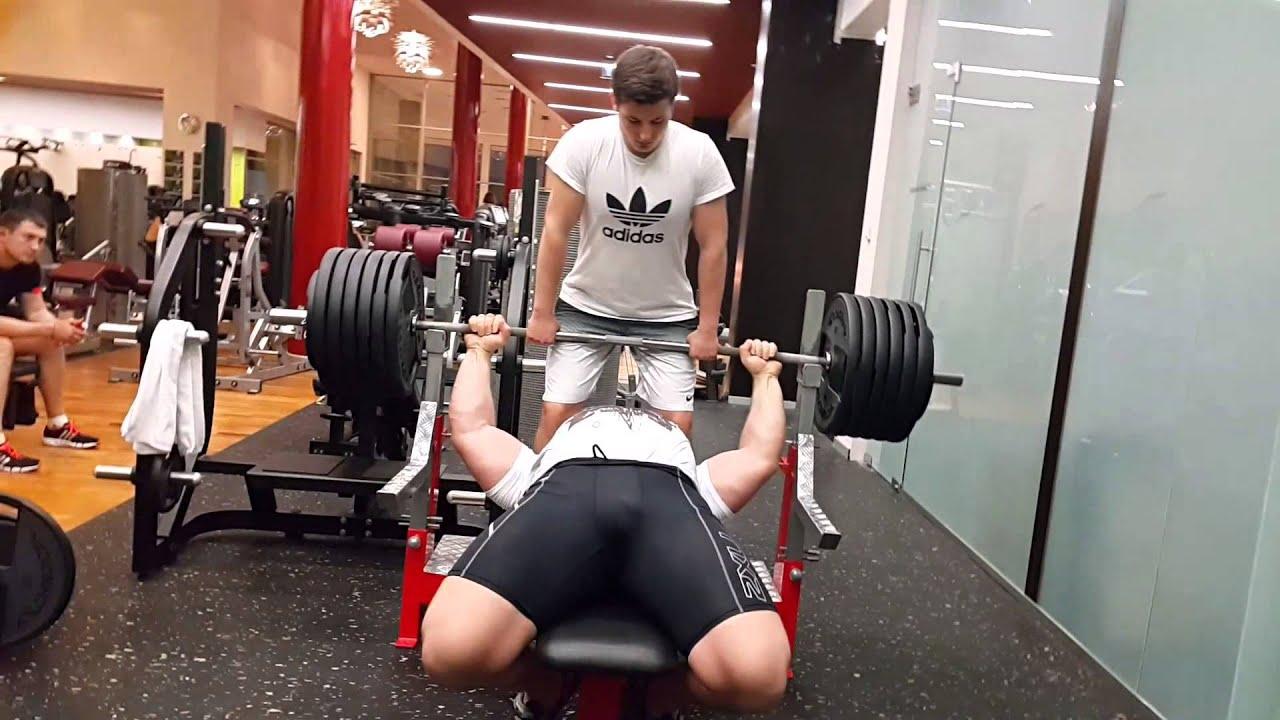 Kirill Sarychev, bench press 280kg x 5 reps