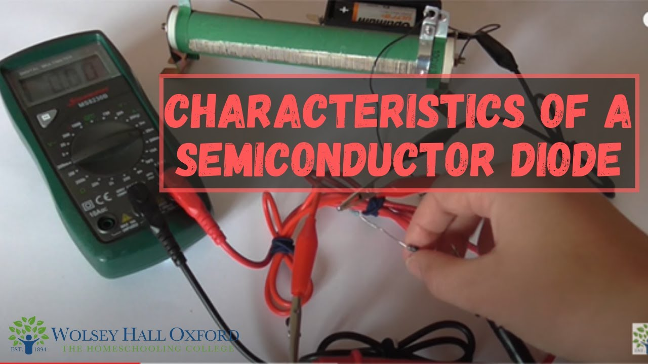 Characteristics of a Semiconductor Diode - A Level Physics ...