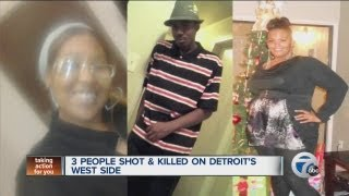 Triple homicide in Detroit