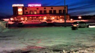 Зимний экстрим в Губкине