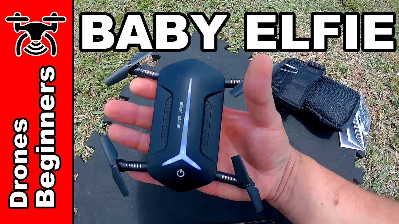 Jjrc H37 Mini Baby Elfie Review Test In English Smallest Selfie Drone Youtube