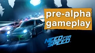 Need for Speed gameplay - E3 2015 EA Conference - FMV and shiny roads!