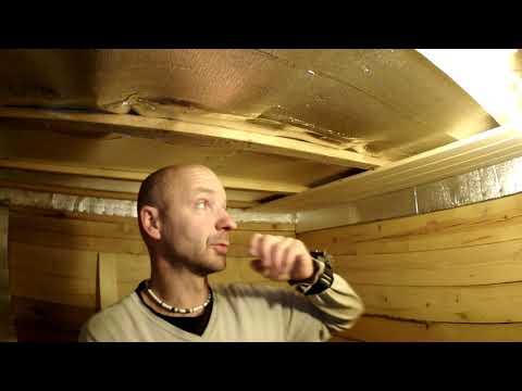 Обшивка потолка вагонкой своими руками видео
