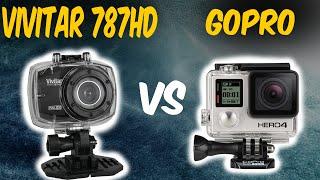 filmadora vivitar dvr 787hd vs gopro review and test excelente cmera de ao
