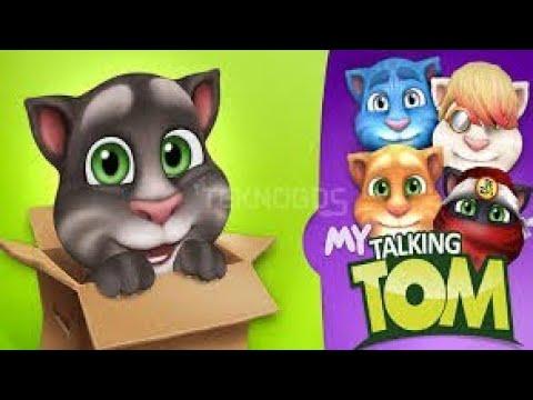 Animasi Talking Tom Takbiran