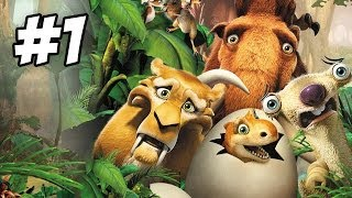 Ice Age: Dawn of the Dinosaurs Walkthrough | Part 1 (Xbox360/PS3/Wii/PC)