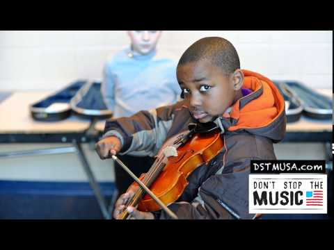 Kids + Instruments = Don't Stop the Music USA! Mp3