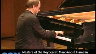 """Marc-André Hamelin performs Debussy: """"Feux d'artifice"""" from Preludes, Book 2"""