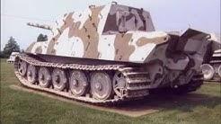 Les chars allemands sur les champs de bataille