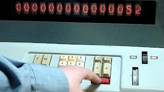"Soviet made ""Iskra 11M"" calculator"