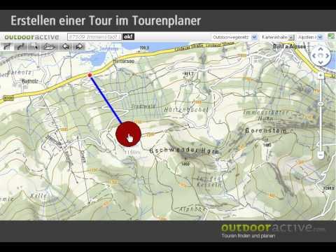 Tourenplanung bei outdooractive.com