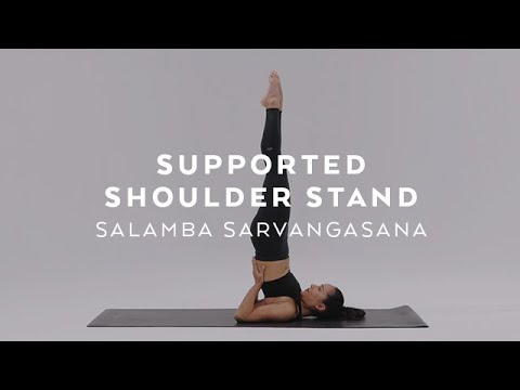 How to do Supported Shoulder Stand | Salamba Sarvangasana Tutorial with Briohny Smyth